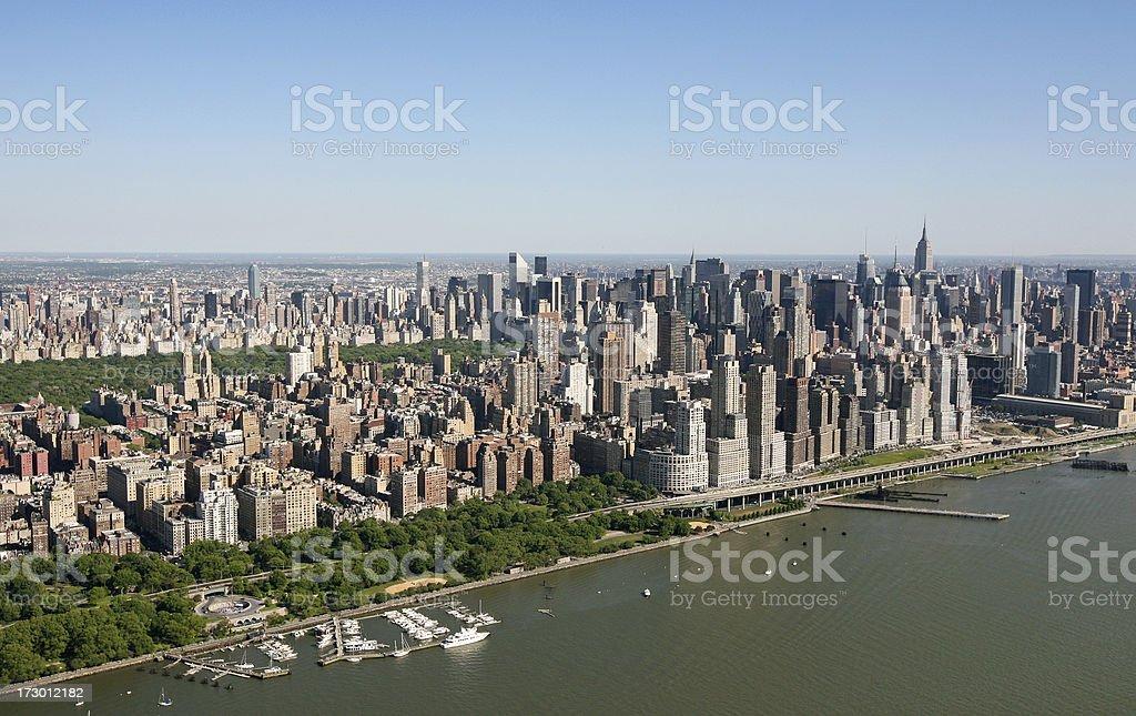 Upper West Side Manhattan stock photo