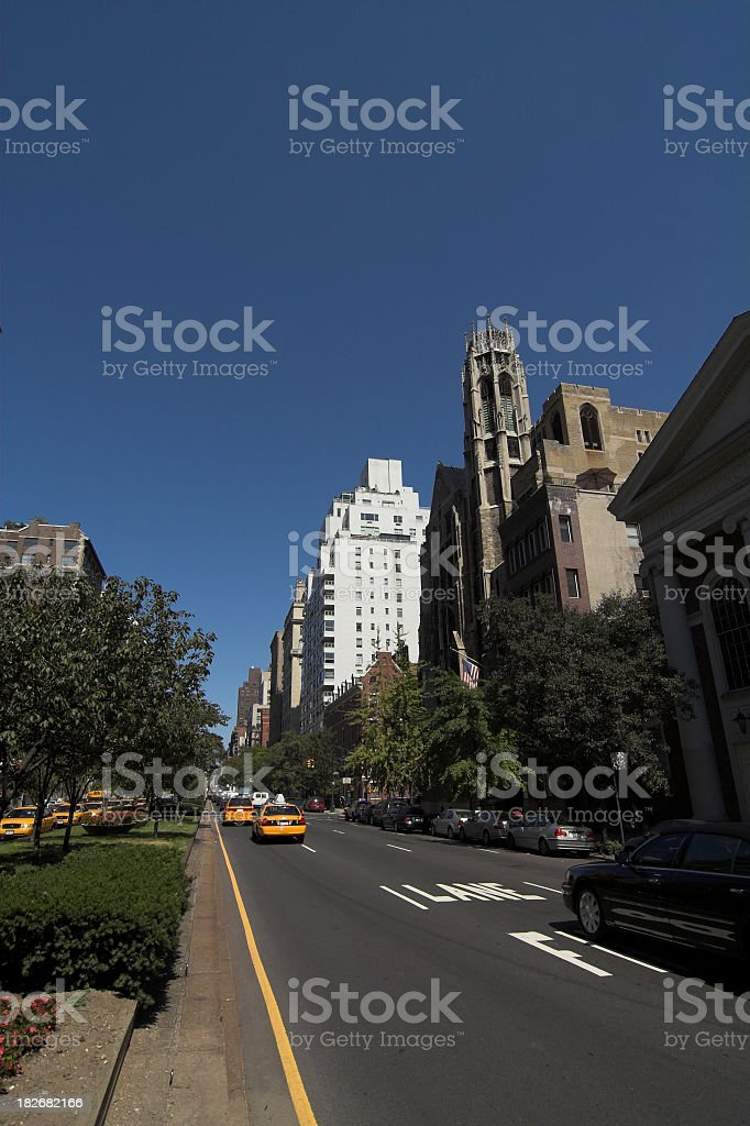 Upper West Side New York City royalty-free stock photo