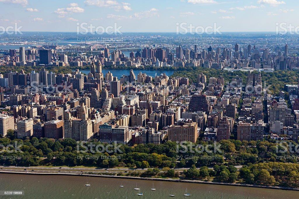 Upper Westside in New York City stock photo