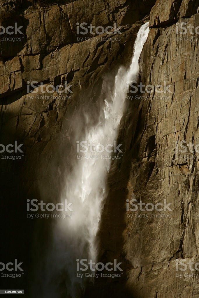 upper yosemite falls royalty-free stock photo