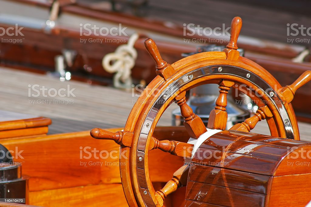 Upperworks of boat royalty-free stock photo
