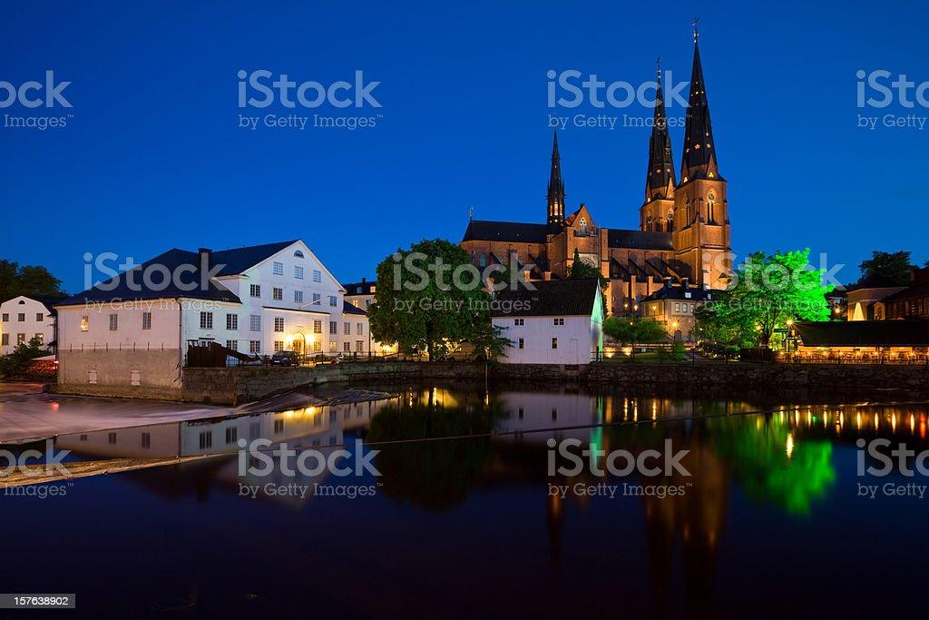 Uppsala, Sweden royalty-free stock photo