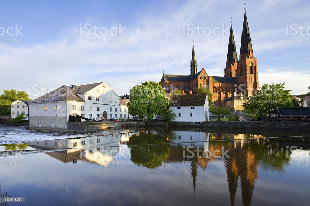 Uppsala, Sweden stock photo