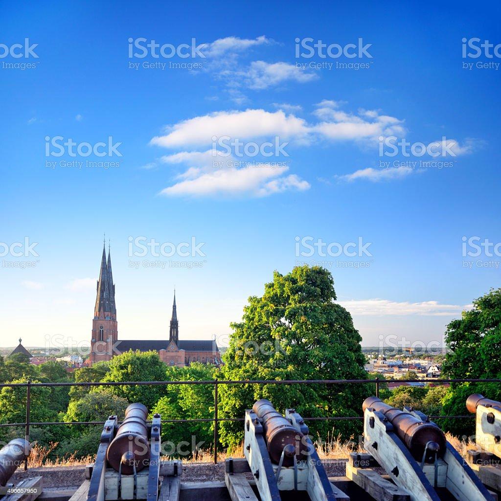 Uppsala, Sweden stock photo