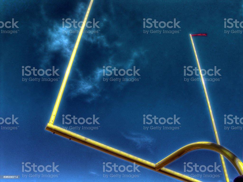 Uprights stock photo
