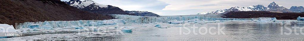 Upsala Glaciar royalty-free stock photo