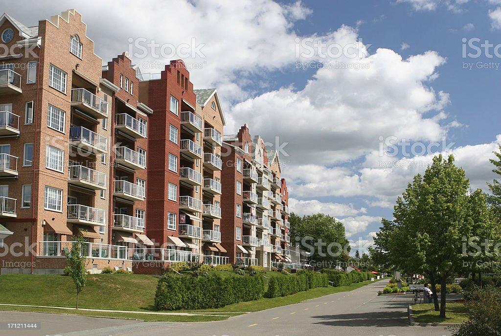 Upscale Condominiums stock photo