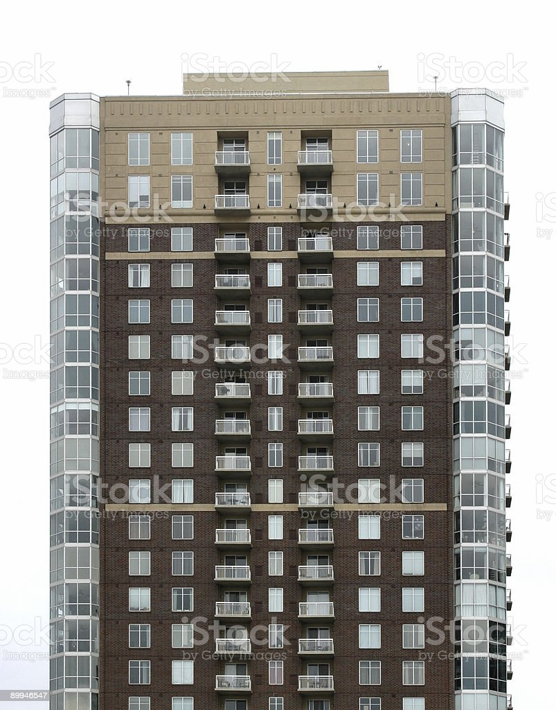 Upscale Condos royalty-free stock photo
