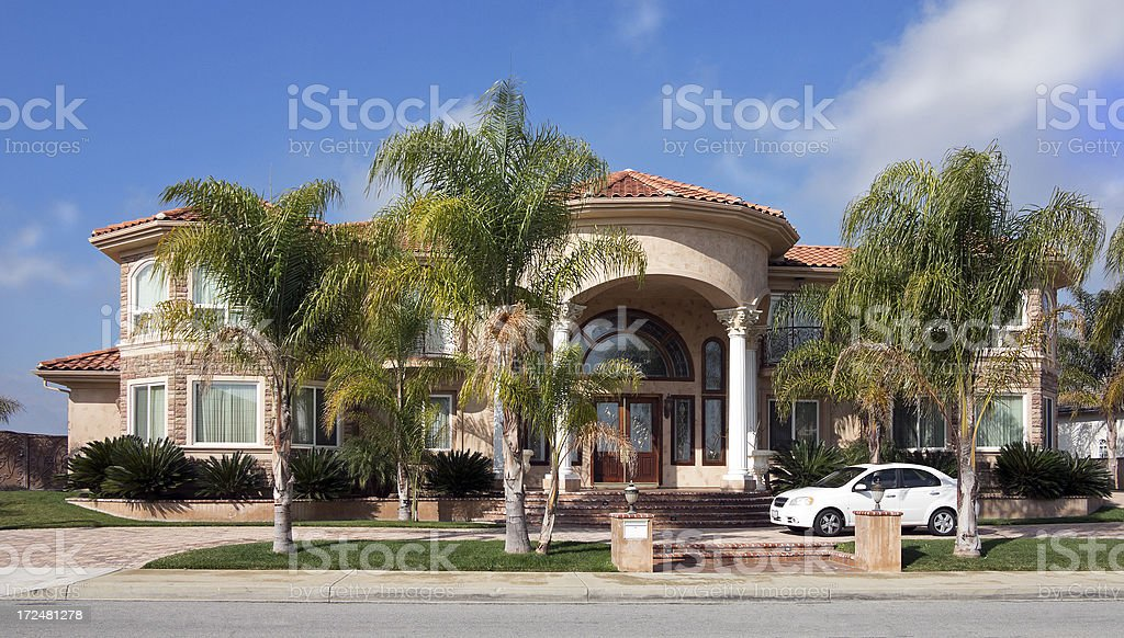 Upscale Home royalty-free stock photo