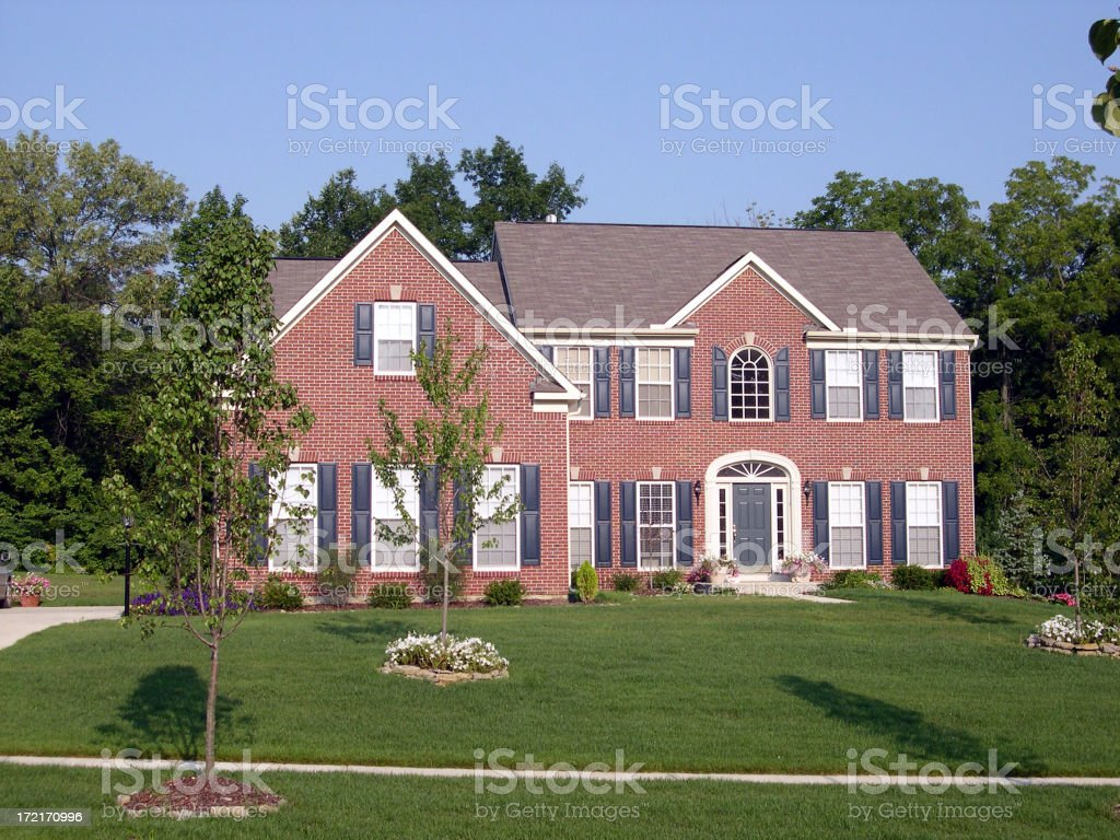Upscale House royalty-free stock photo