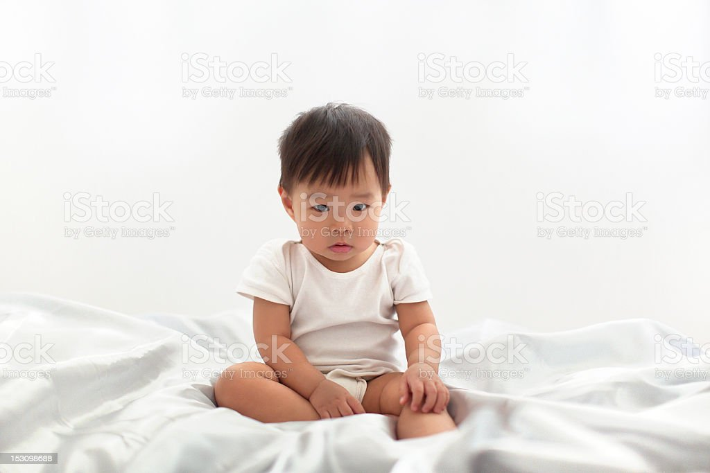 Upset Baby royalty-free stock photo