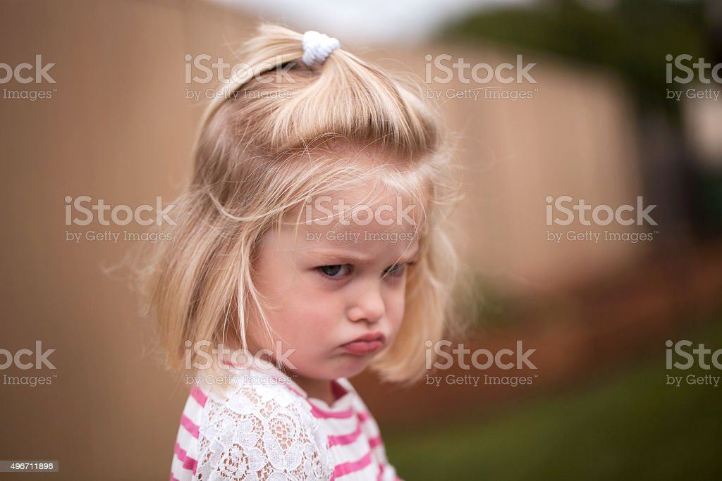 Upset stock photo
