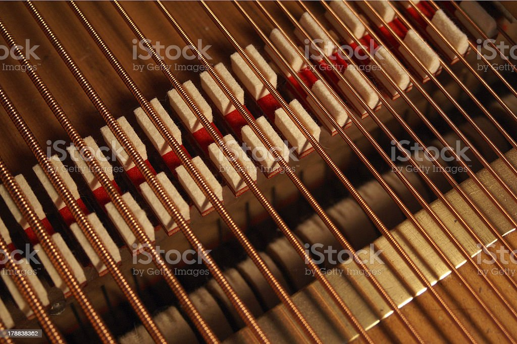 Upside down dampers royalty-free stock photo