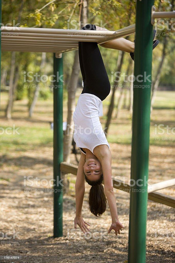Upside down stock photo
