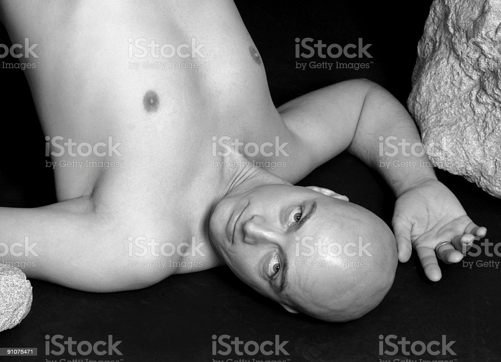 Upside Down royalty-free stock photo