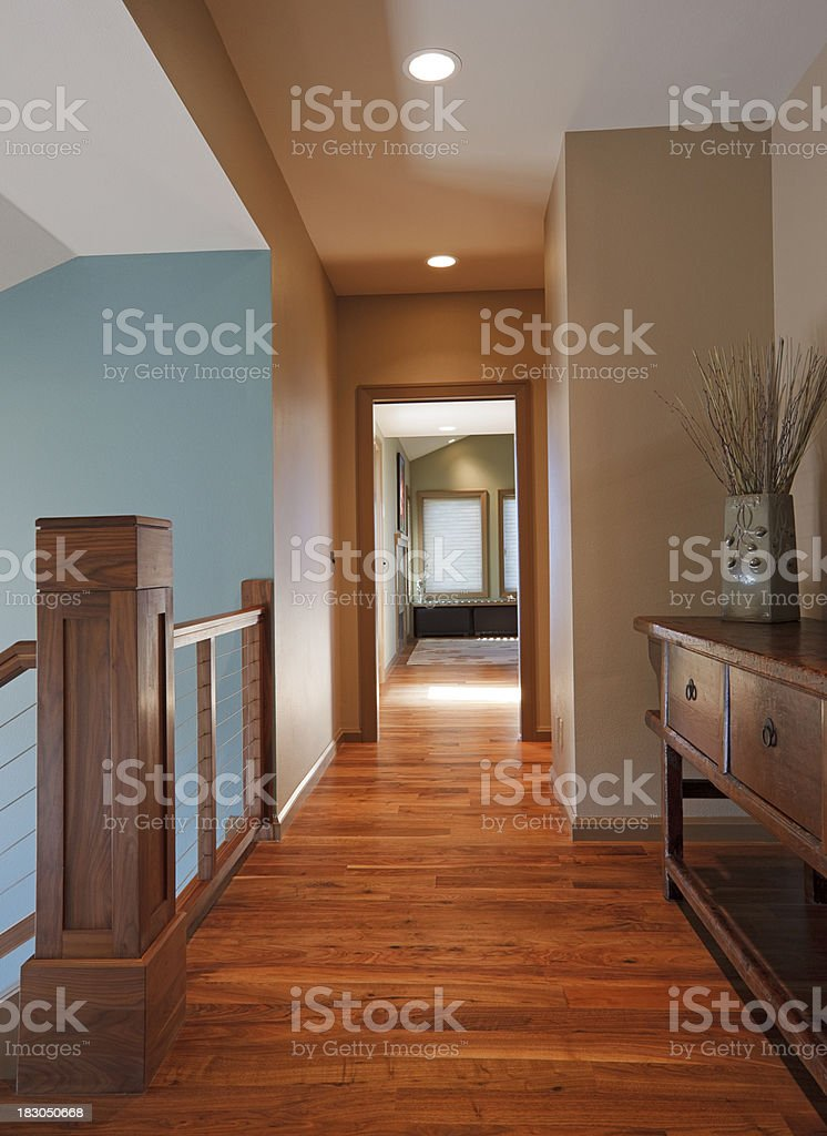 Upstairs Hall royalty-free stock photo