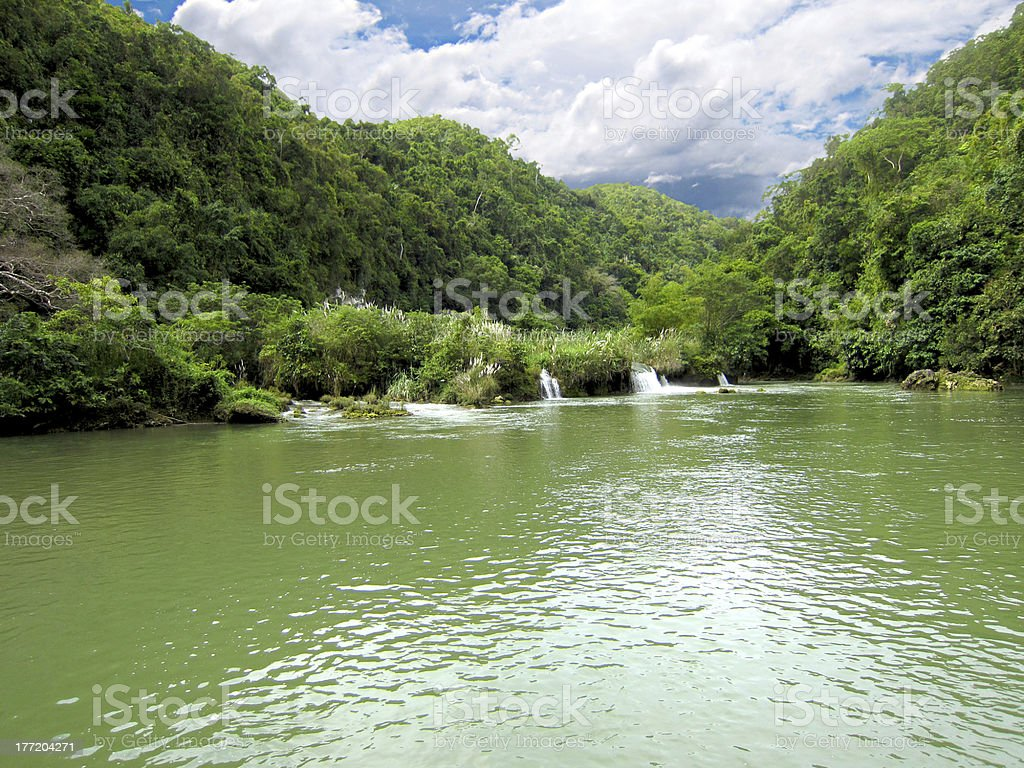Upstream of Loboc River royalty-free stock photo