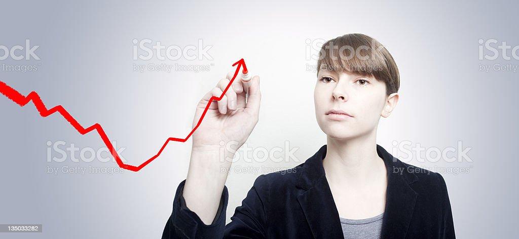 Upswing stock photo