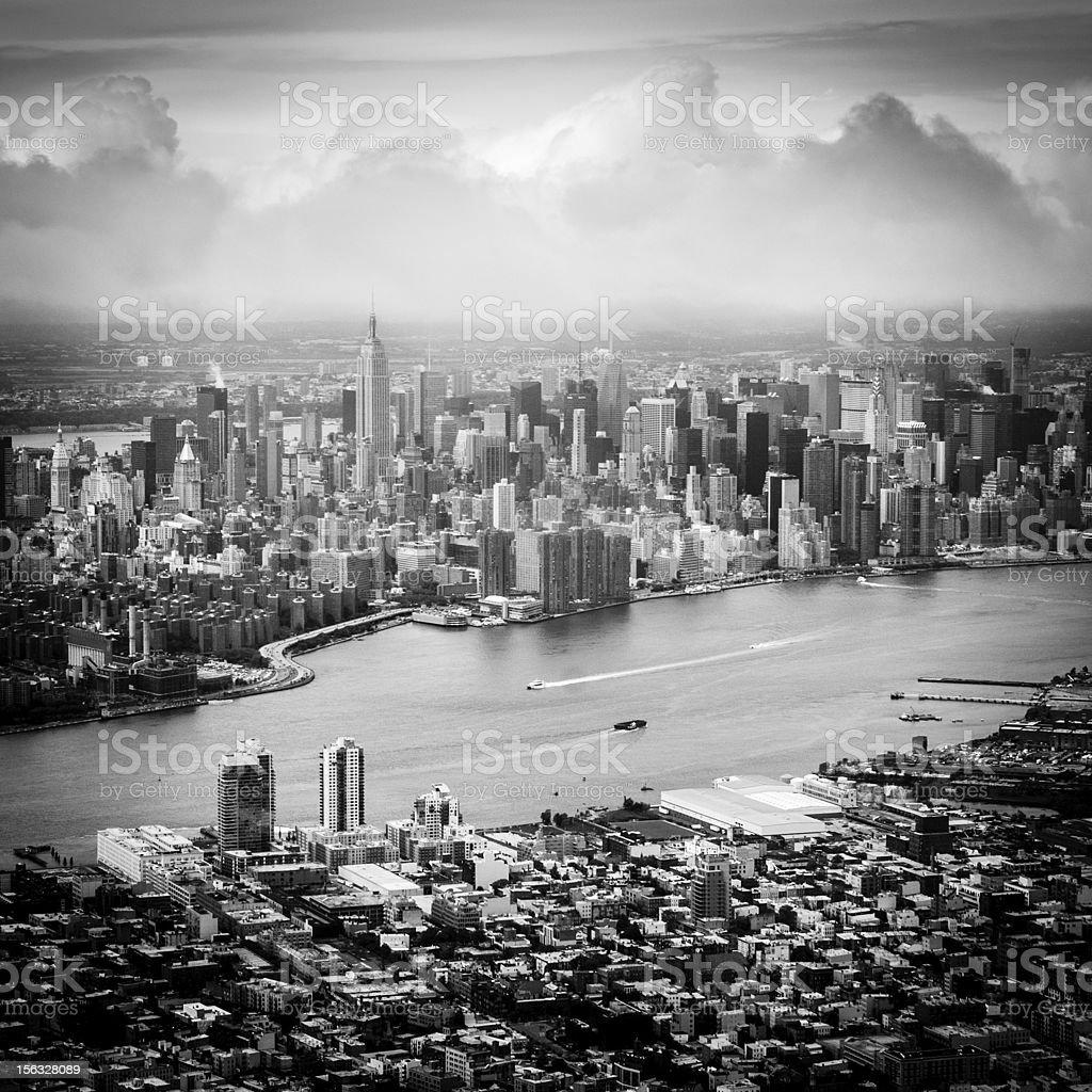 Uptown Manhattan New York royalty-free stock photo