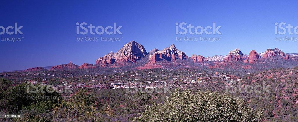 Uptown Sedona, Arizona , United States royalty-free stock photo