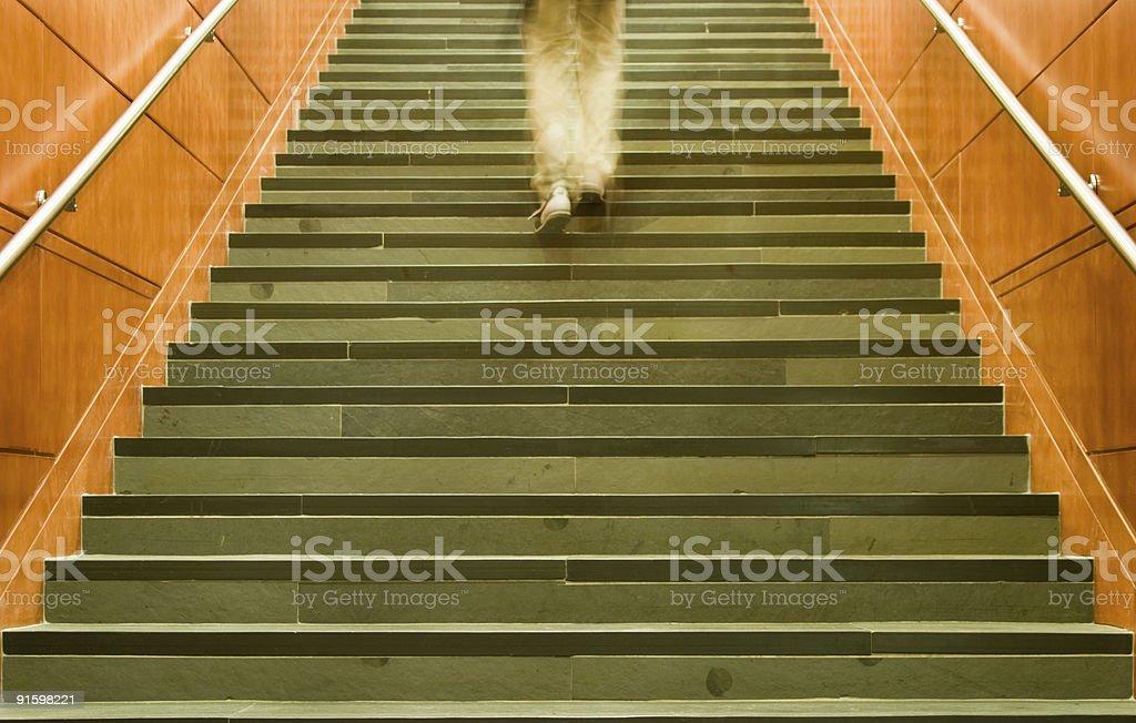 Upward Motivated royalty-free stock photo
