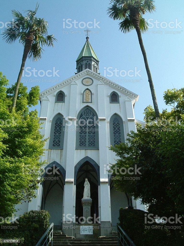 Ōura iglesia.   Nagasaki, Japón foto de stock libre de derechos