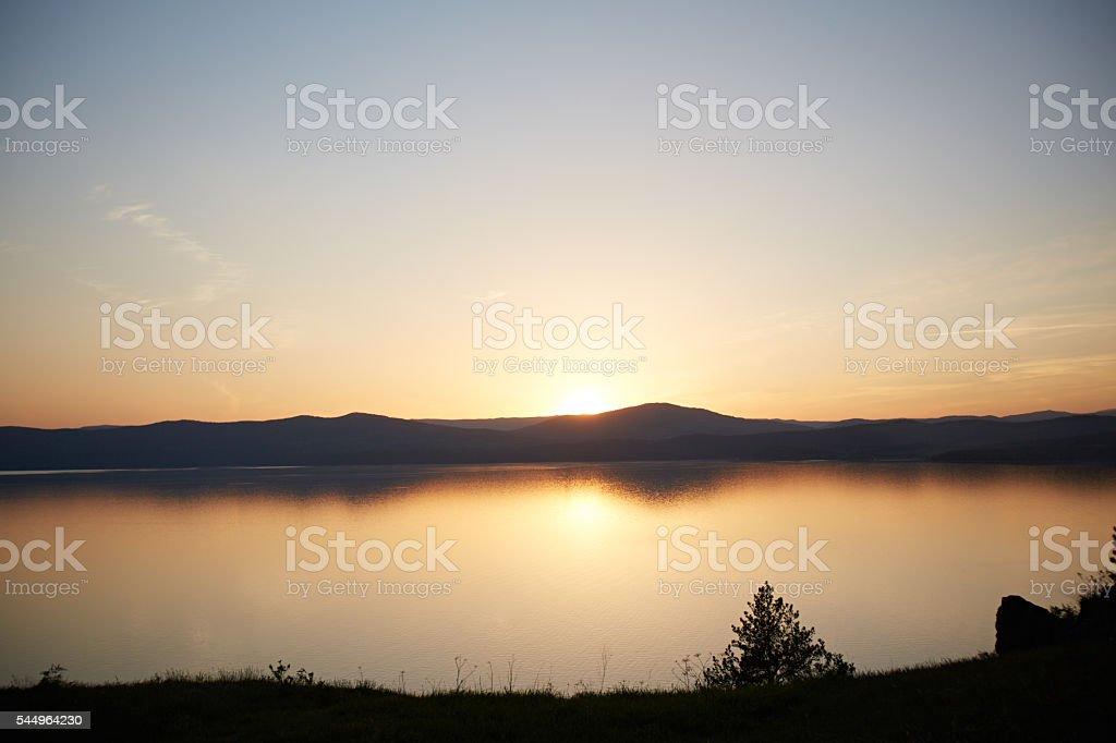 Ural Mountains stock photo