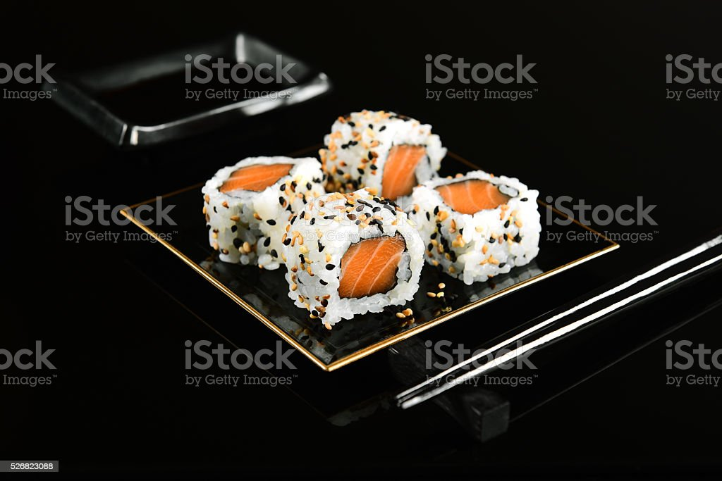 Uramaki Sushi stock photo