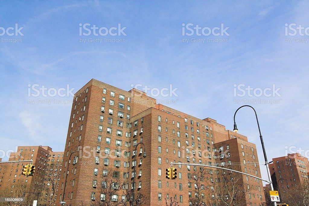 Urban Apartments stock photo