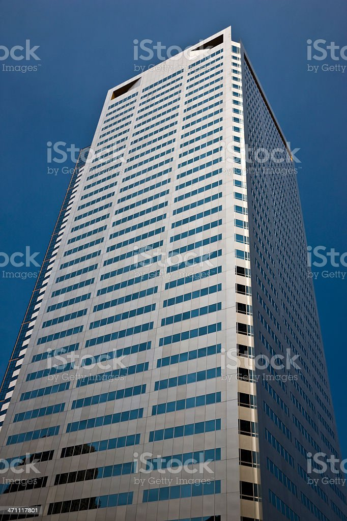 Urban Architecture Modern Skyscraper royalty-free stock photo
