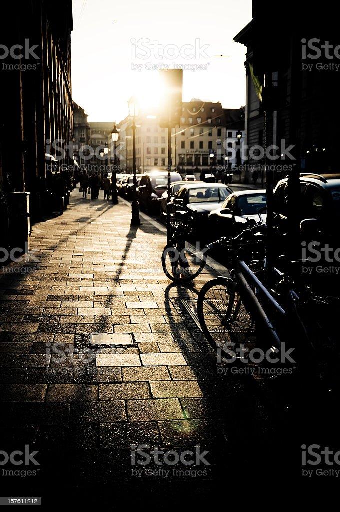 Urban Backlight stock photo
