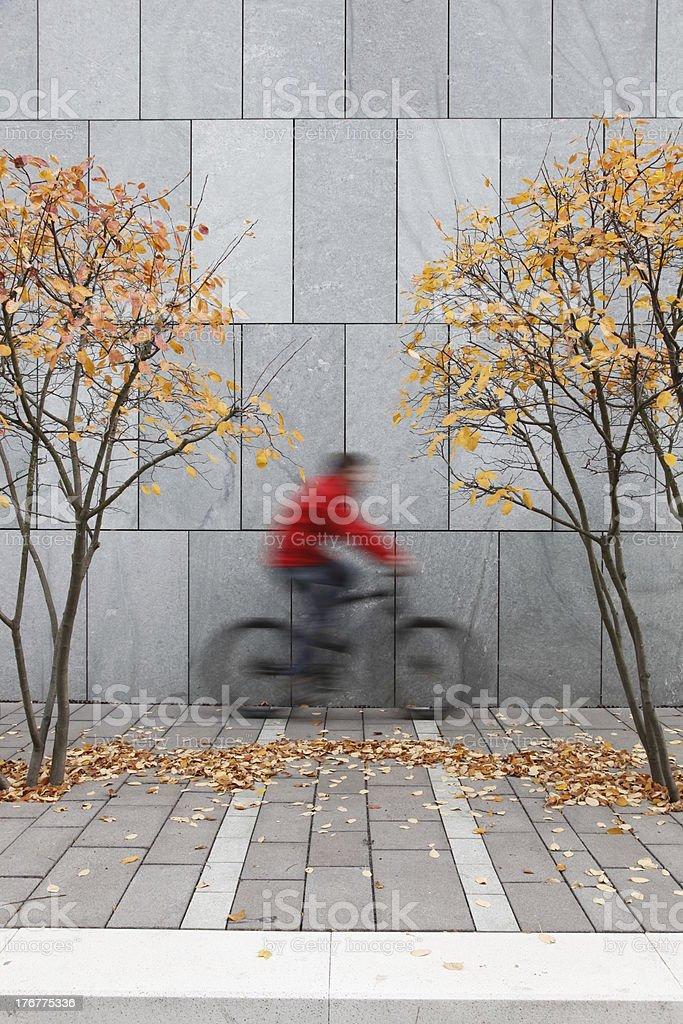 urban biker stock photo