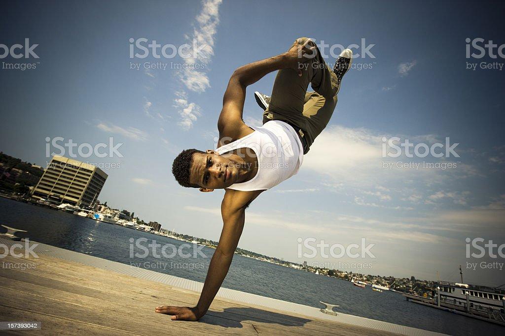 Urban Break Dance stock photo