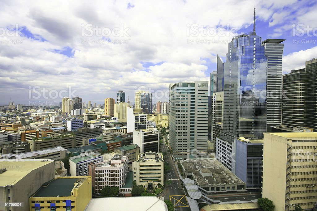 urban buildings royalty-free stock photo