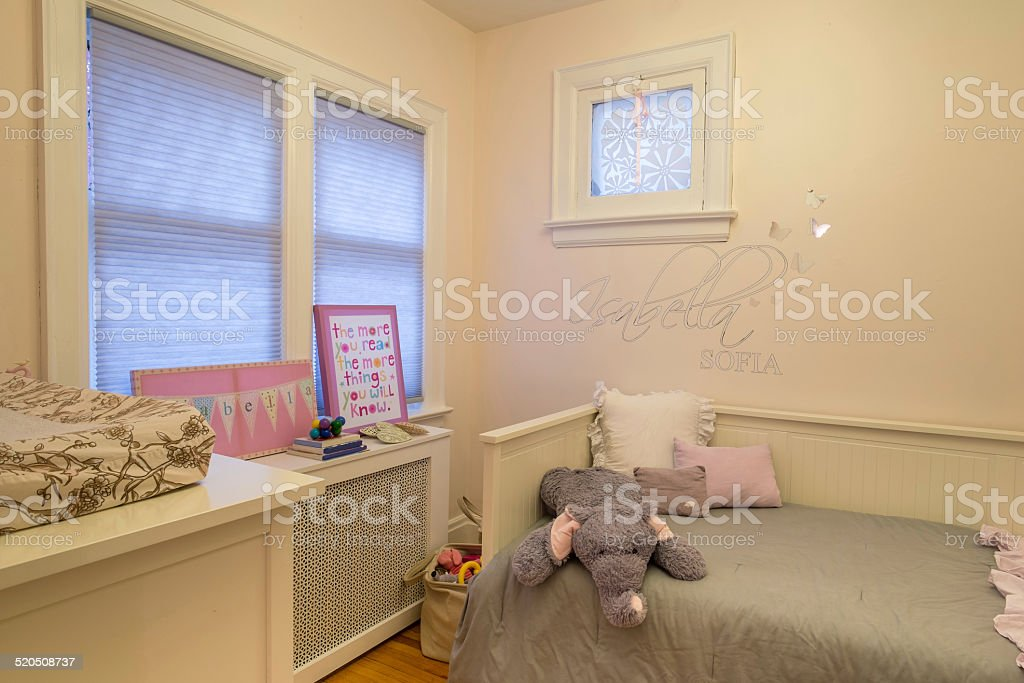 Urban Bungalow interior stock photo