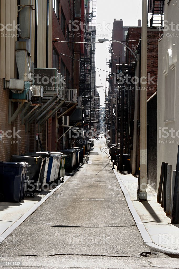 Urban Canyon royalty-free stock photo