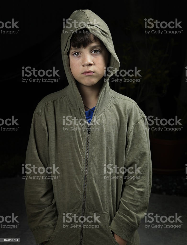 Urban child stock photo