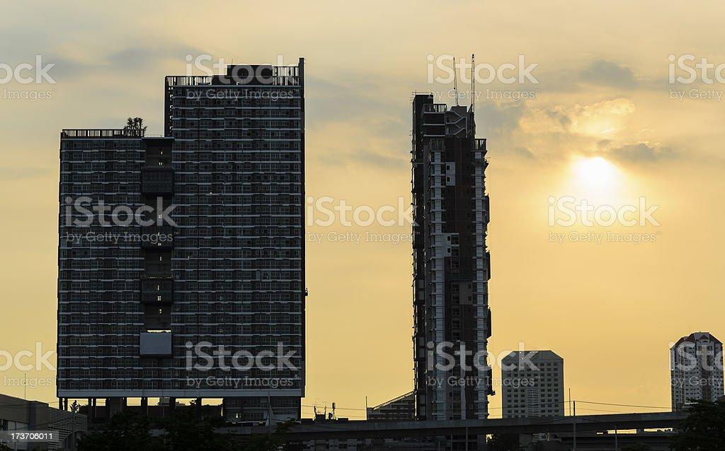 urban city scape royalty-free stock photo