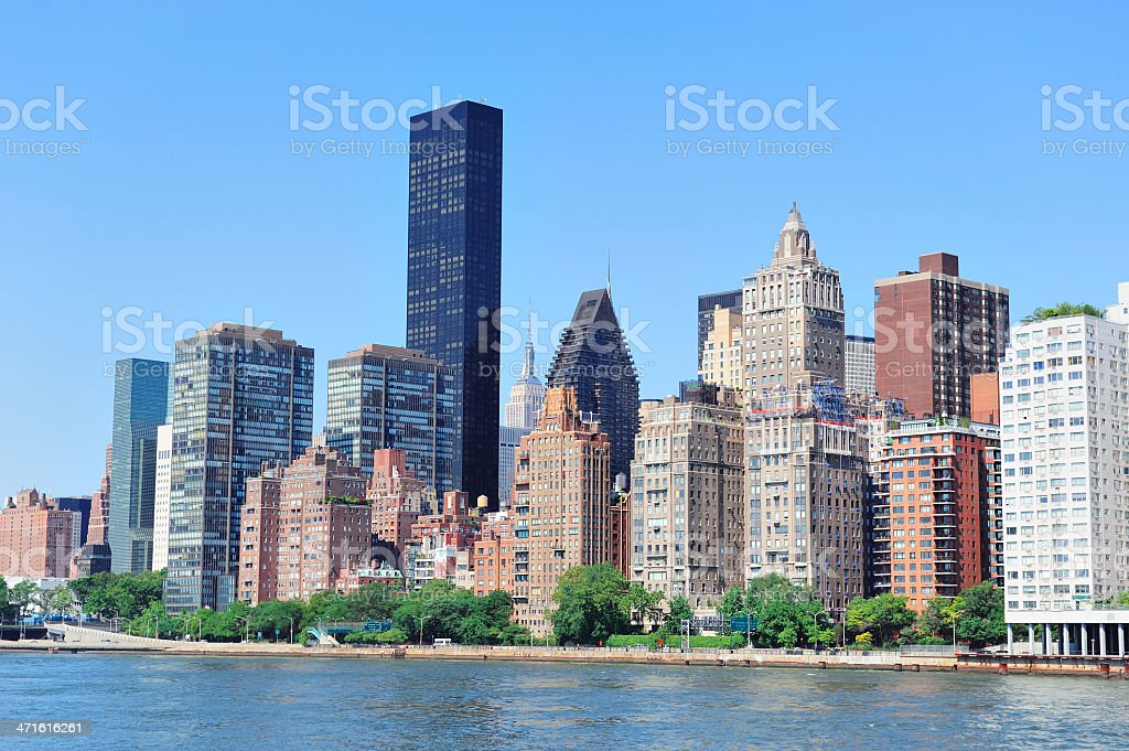 Urban city skyline royalty-free stock photo