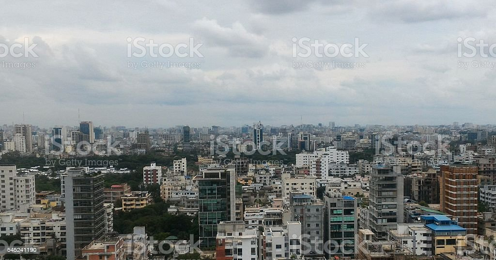 Urban cityscape stock photo