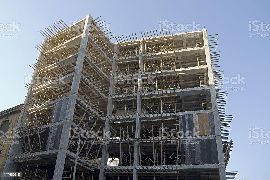 Urban Construction royalty-free stock photo
