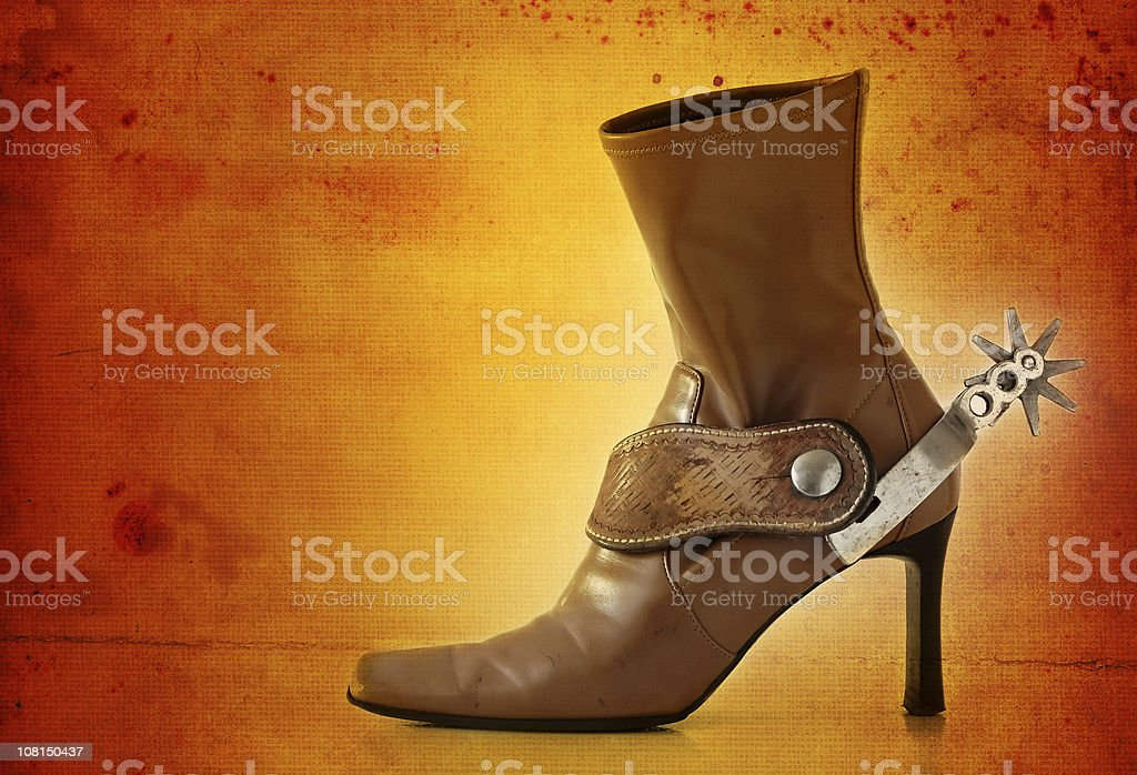urban cowgirl serie royalty-free stock photo