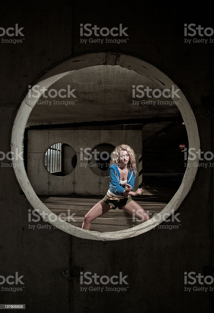Urban dance royalty-free stock photo