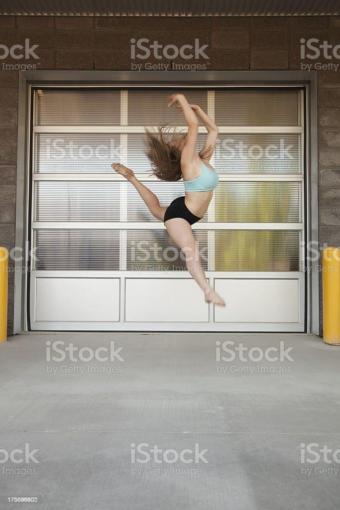 Urban Dancer royalty-free stock photo