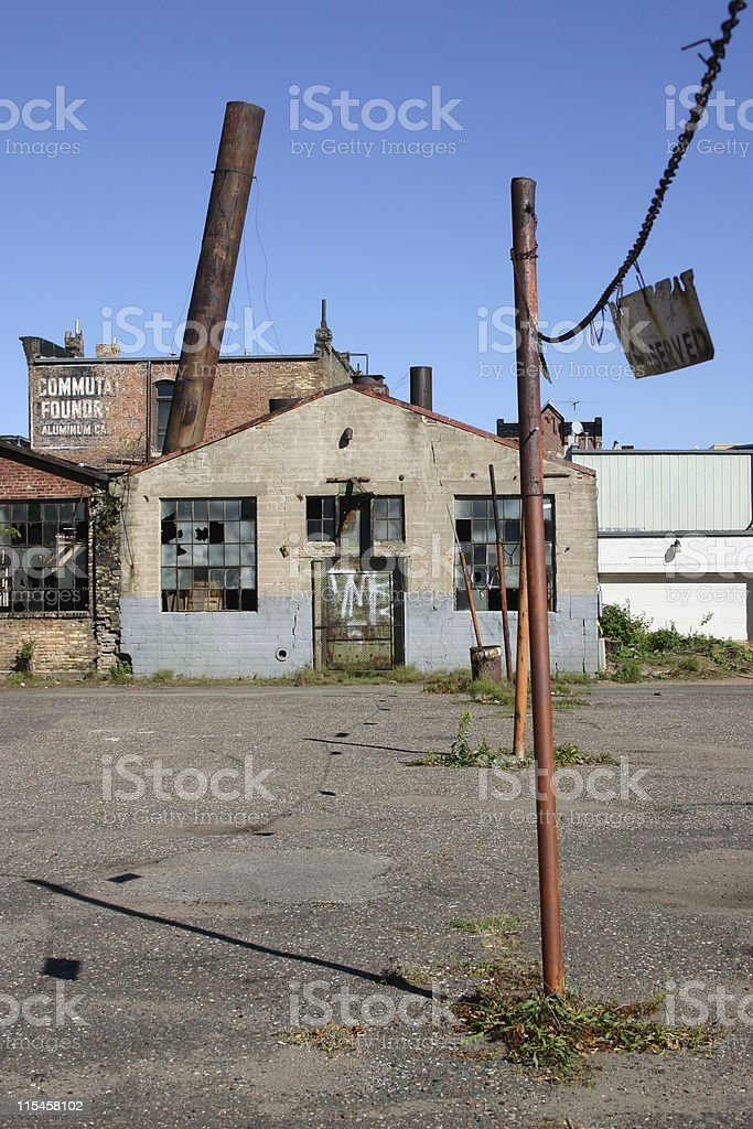 Urban Decay royalty-free stock photo