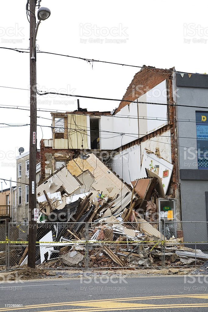 Urban Decay stock photo