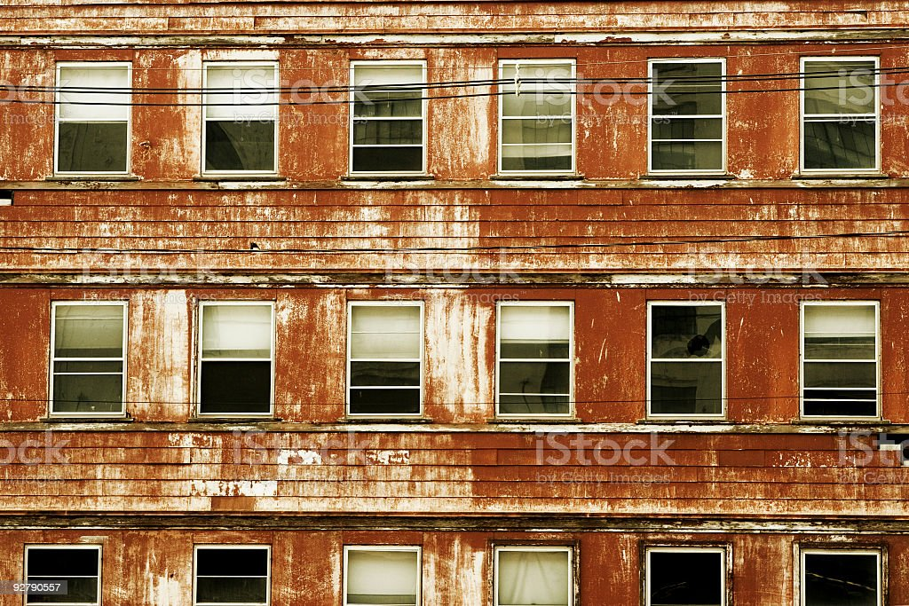 Urban Decay stock photo