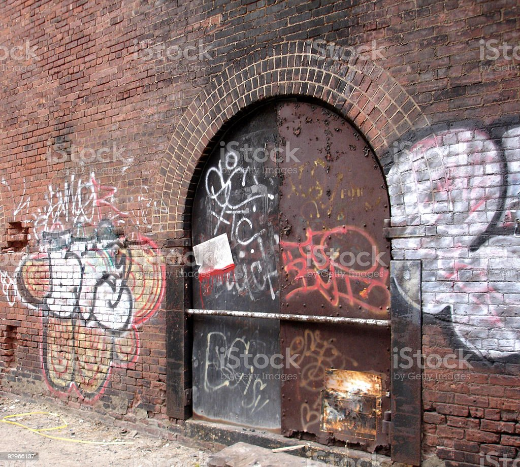 Urban Decay royalty-free stock photo