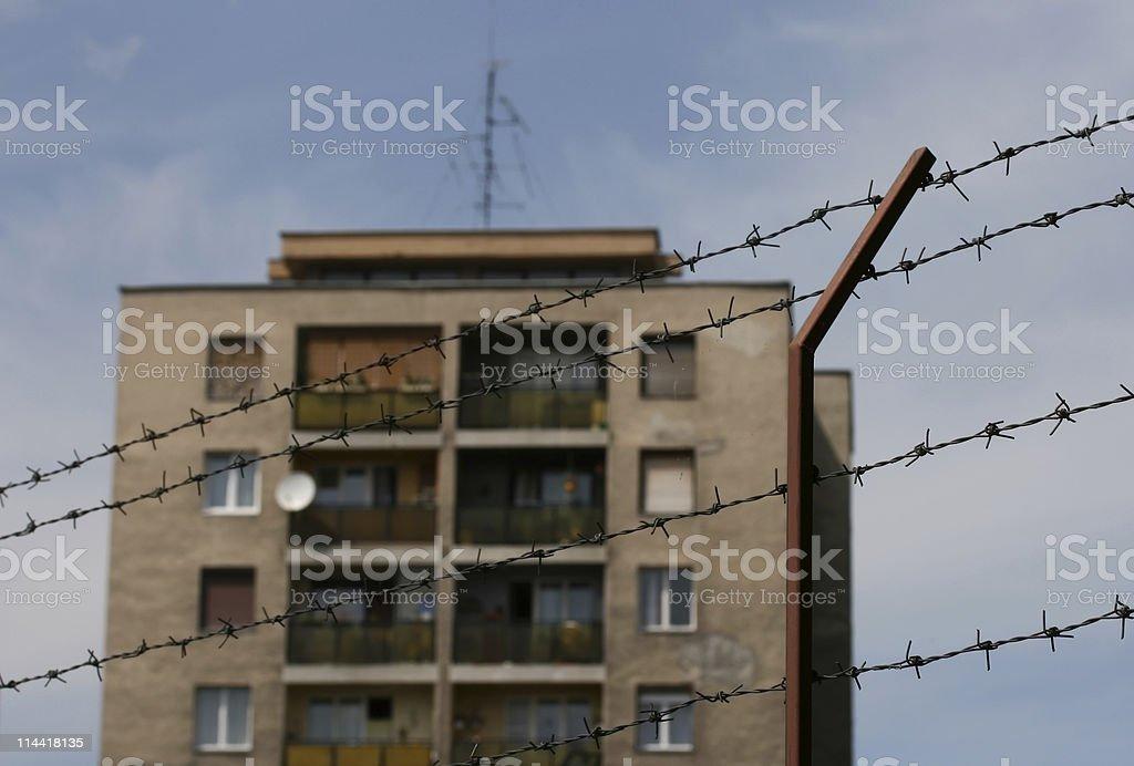 Urban Depression royalty-free stock photo