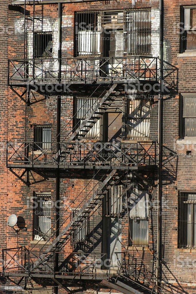 Ville de Detroit photo libre de droits